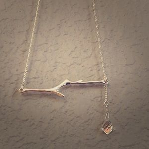 Jeweled Branch Necklace